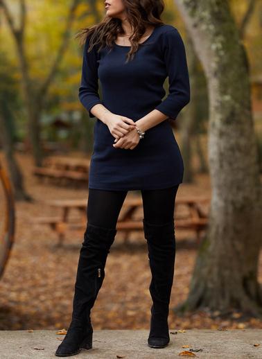 XHAN Elbise Lacivert